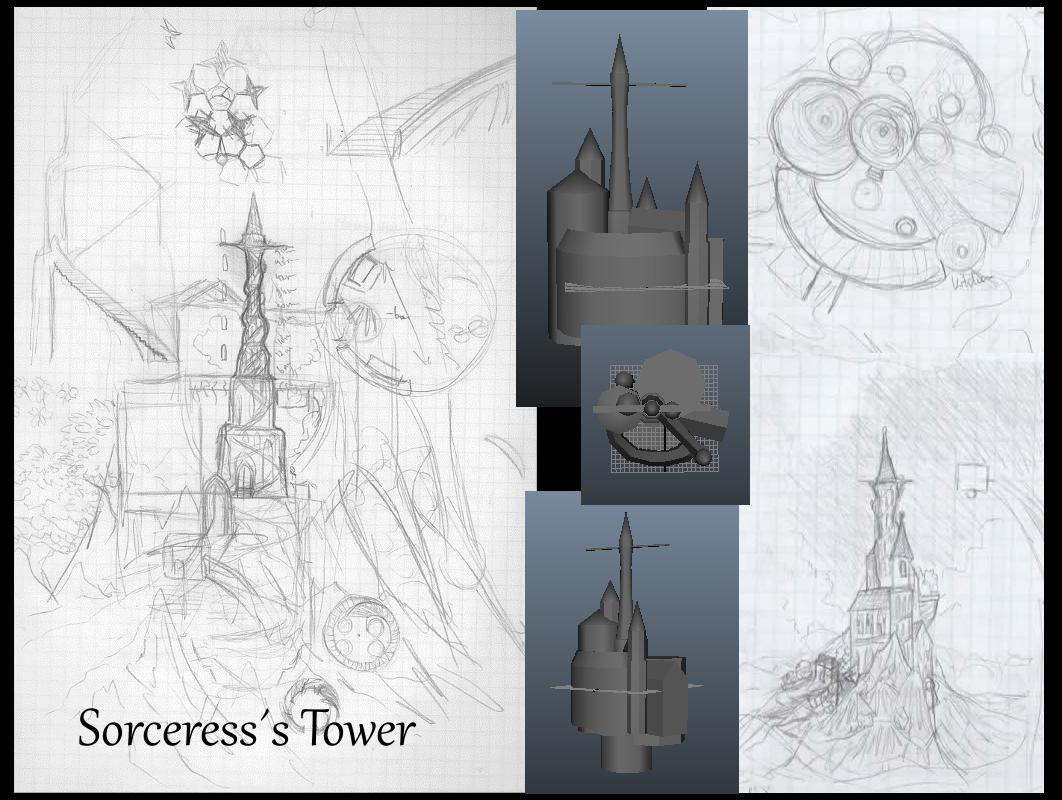 Sorceress's Tower Week 1