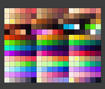 Candy-palette